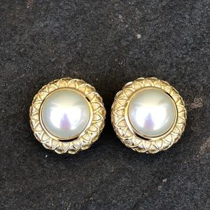 Burberry vintage clip-on earrings